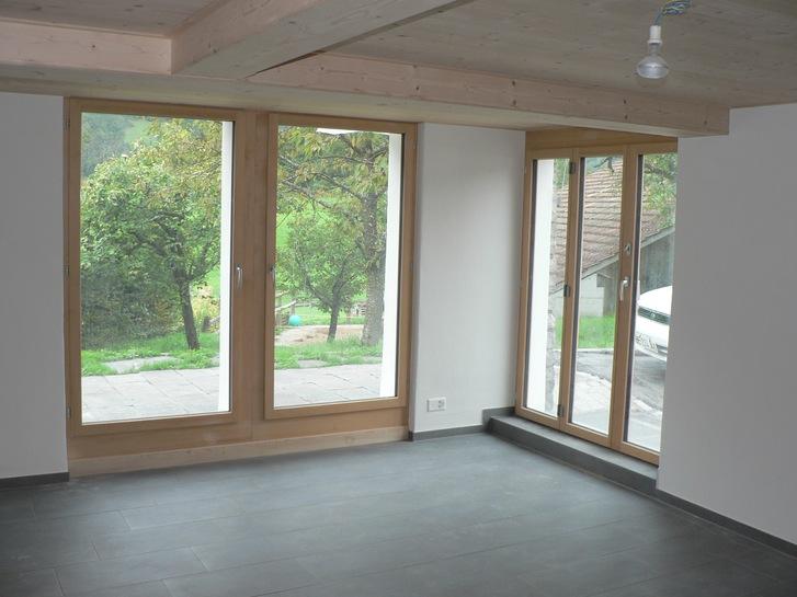 2-Zimmerwohnung in Gsteigwiler b. Interlaken zu vermieten  3
