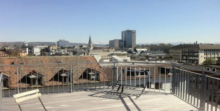 Penthouse mit privater Dachterrasse  2