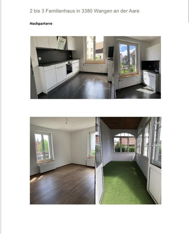3.5 Zimmerwohnung mit Wintergarten Neu Renoviert 3