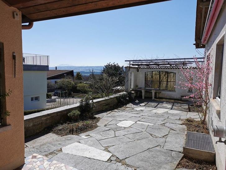 Ruhiges freistehendes 5.5 Zi.-EFH - 750m2 Garten, Terrasse, Aus- & Fernsicht 8967 Widen