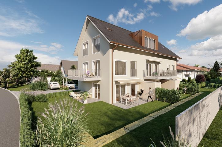 Haus A (Eckhaus) CHF 1'048'000.- inkl. zwei Parkplätze 5524 Niederwil AG