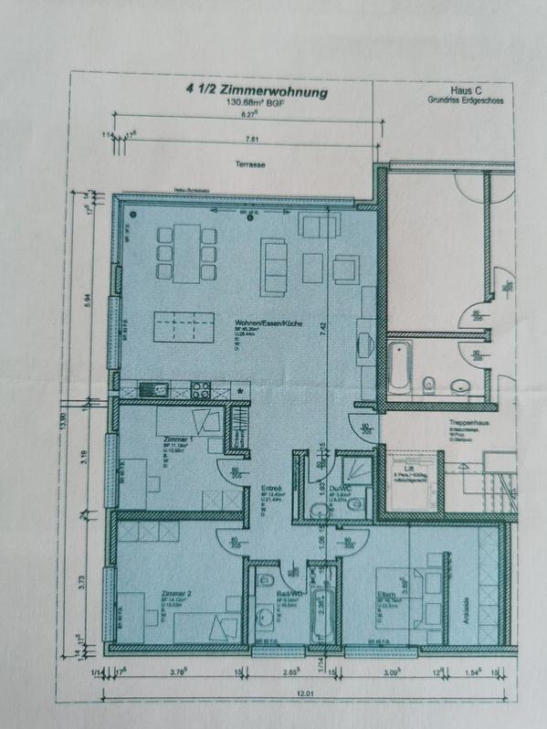 4.5 Zimmer Wohnung in Brig-Glis  4