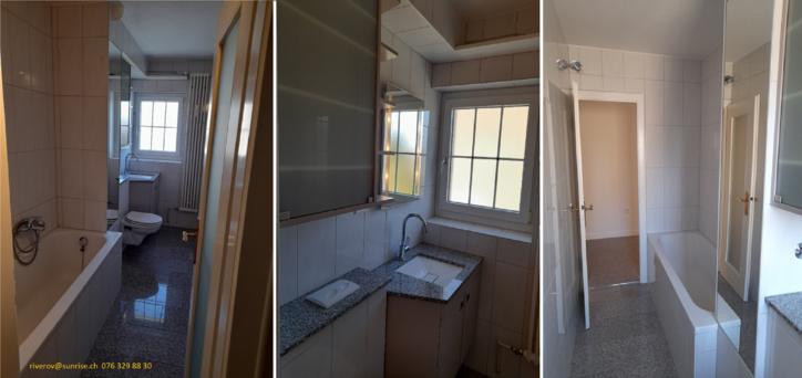 3,5 Zimmer, 62 m² Frisch renovierte Wohnung  4