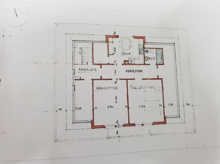 2,5 Zimmerwohnung in Uettligen ab 1.8.2021 2