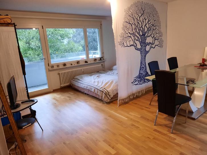 Per sofort 1.5 Zimmer Wohnung zu vermieten  9630 Wattwil