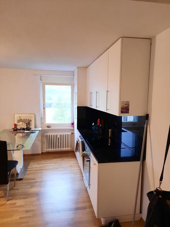 Per sofort 1.5 Zimmer Wohnung zu vermieten  2