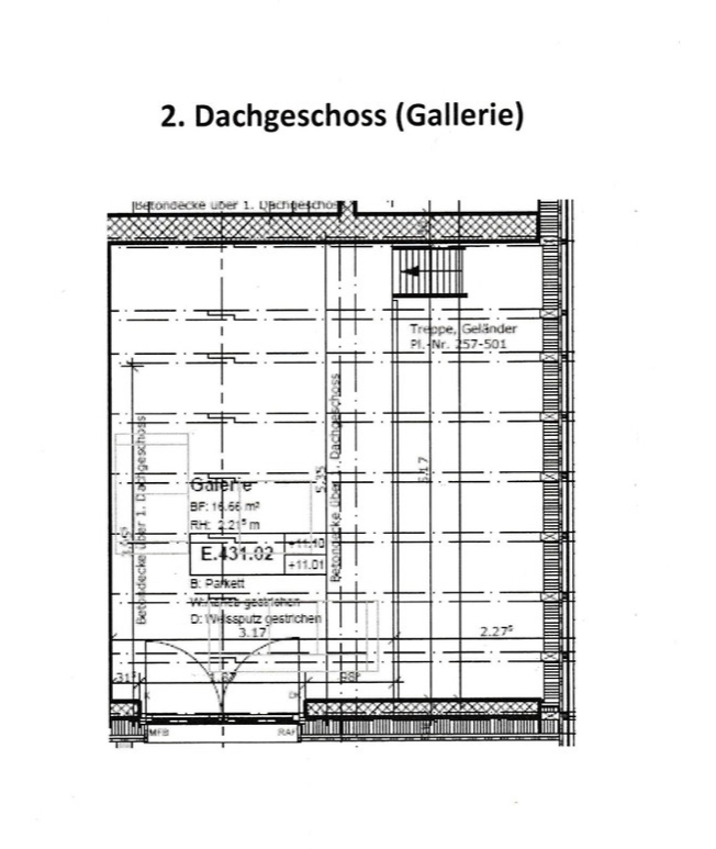 Wunderschöne, moderne 3.5 Dachgeschoss Wohnung mit Gallerie 8494 Bauma