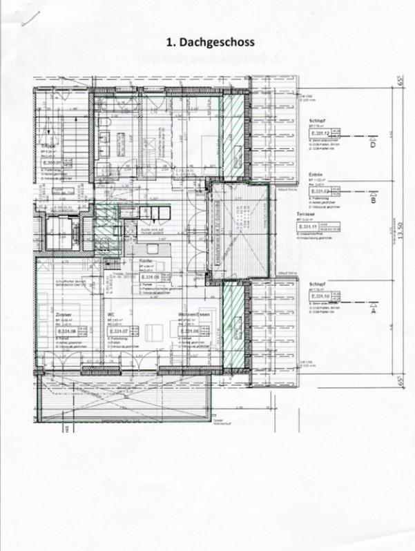 Wunderschöne, moderne 3.5 Dachgeschoss Wohnung mit Gallerie 2