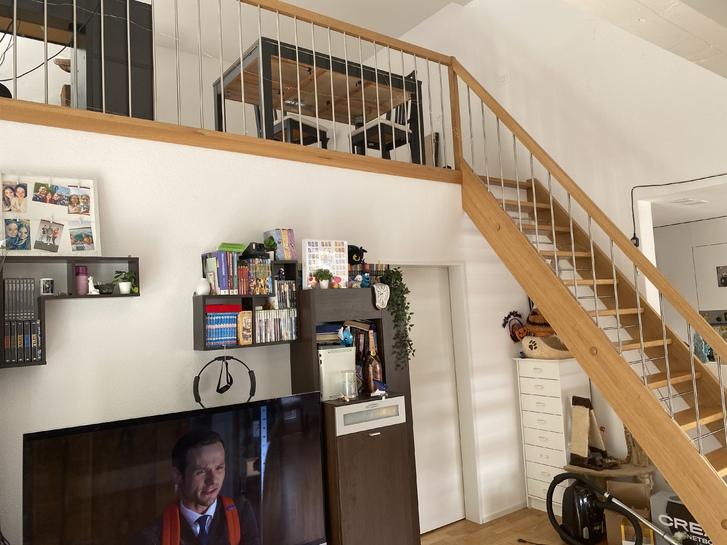 Wunderschöne, moderne 3.5 Dachgeschoss Wohnung mit Gallerie 4