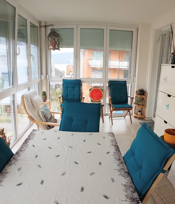 3.5-Zimmerwohnung mit Wintergarten und Seeblick in Thalwil ab 1. Juni verfügbar Thalwil