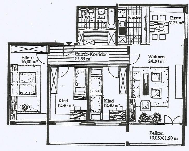 4.5 Zimmer-Wohnung in Emmenbrücke 6020 Emmenbrücke