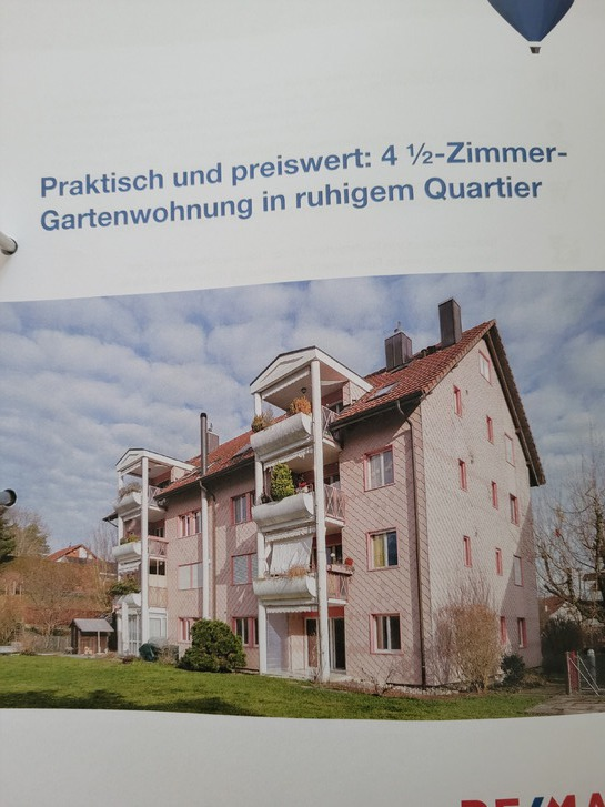 4.5 Zimmerwohnung in Gipf-Oberfrick Gipf-Oberfrick