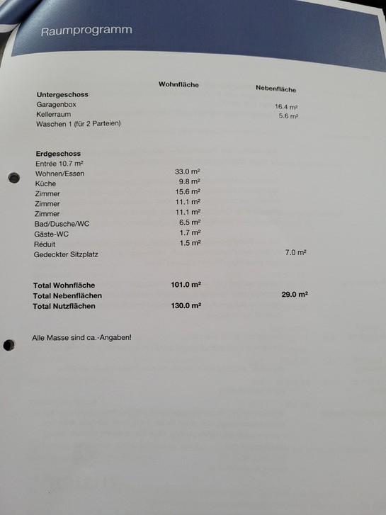 4.5 Zimmerwohnung in Gipf-Oberfrick 2