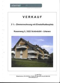 3.5 Zimmer Wohnung in Schönbühl ab 1. Okt. 2016