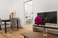 Modernes Wohnung 1 separates Schlafzimmer
