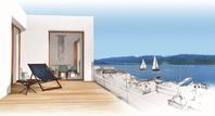 VILLA MARINA, 2.5-Zimmerwohnung in einer traumhaften Villa mit vollem Seeblick am Zürichsee