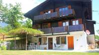 Chalet GRÄCHBIEL 7-Zimmer Chalet mit grossem Garten und Aussicht auf Riedgletscher und Mischabelgruppe