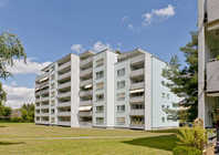 Helle 1.5 Zimmer Wohnung in grüner Umgebung