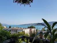 Schöne Wohnung mit Garten und Seesicht