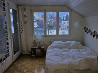 helles und geräumiges WG-Zimmer