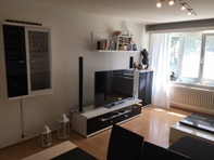 Schöne, möblierte 2.5 – Zimmer Wohnung ab 1. Oktober – unbefristet – 1'650 CHF