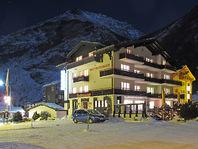 Schönes Hotel Mattmark auf 4 Etagen, 26 Zimmer