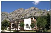 Haus MAJESTA, helle Studiowohnung mit Blick auf die Gemmi