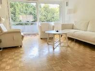 Schöne sonnige grosszügige 3.5 Zimmerwohnung 110 m2 mit gehobenem Standard an ruhiger Lage im Grünen