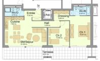 3 1/2 Zimmer Wohnung in Granges VS