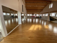 160 m2 Trainingsraum, Fitness, Tanzsaal, Yoga, Personal Training