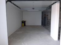 Garage abgeschlossen