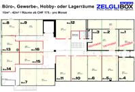 ZELGLIBOX - Buero-, Gewerbe-, Hobby - oder Lagerräume