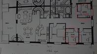 zwei Zimmer zur Auswahl in grosser Wohnung mit Balkon