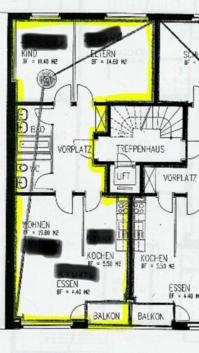 3,5 Zimmer Wohnung im Matthäus-Quartier