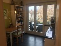 Helle, zentrale 3,5 Zimmer Wohnung mit Balkon und Benützung Garten Bahnhofstrasse 65, 5430 Wettingen