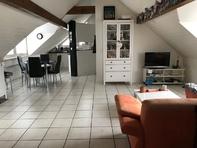 Logement mansardé lumineux à / helle Dachwohnung in Givisiez