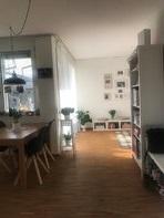 Schöne und helle Wohnung zur Untermiete , befristet,  für Juni bis August 2021